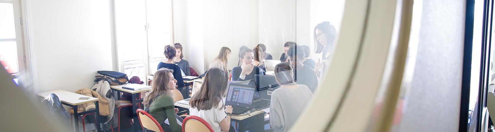 Ecole de communication EFAP - Proposer une étude de cas