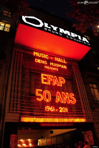 2011 - Date Clé EFAP, 1e Grande école de Communication