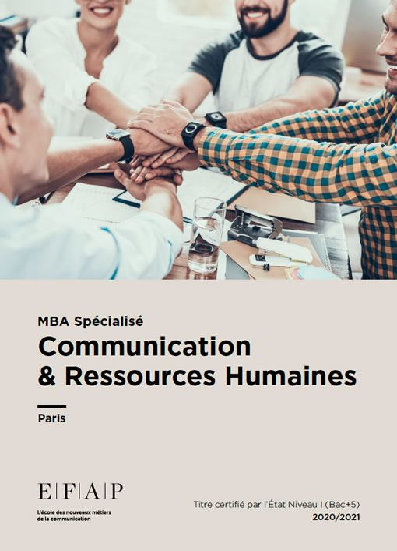 2020 - Date Clé EFAP, 1e Grande école de Communication