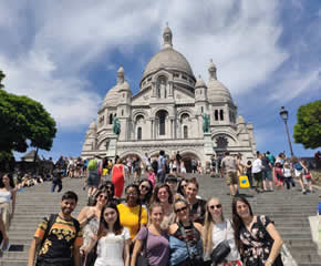 And ride-up the Eiffel Tower, guided tour of Paris, boat-ride down the River Seine...
