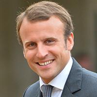 Emmanuel MACRON - Parrain école de Communication EFAP Paris 2016