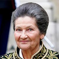 Simone VEIL - Parrain école de Communication EFAP Paris 1999