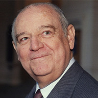 Raymond BARRE - Parrain école de Communication EFAP Lyon 1984