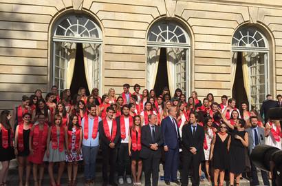 Actu EFAP - Cérémonie de remise de Diplômes de l'EFAP Bordeaux - Promotion 2015