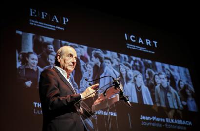 Actu EFAP - Cérémonie de remise de diplômes de l'EFAP Paris - Promotion 2015