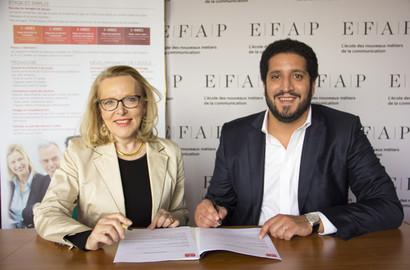 Actu EFAP - Partenariat EFAP / ESSCA Shanghai