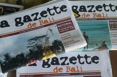 Actu EFAP - Rencontre avec Camille Quancard en stage en Indonésie à La Gazette de Bali