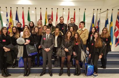 Actu EFAP - Plongée au coeur du Parlement européen à Bruxelles