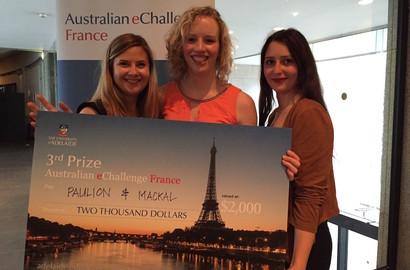Actu EFAP - L'EFAP sur le podium de l'Australian eChallenge France!