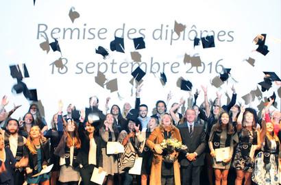 Actu EFAP - Remise de diplômes EFAP Bordeaux - Promotion 2016