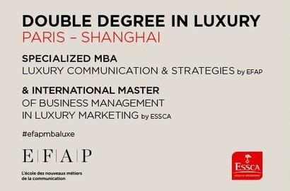 Actu EFAP - Double Diplôme Luxury Shanghai