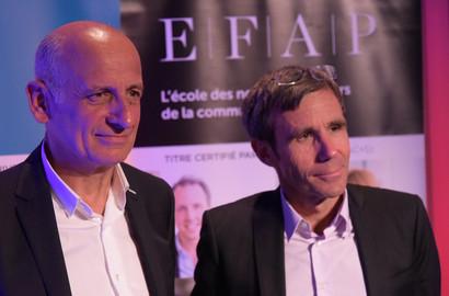 Actu EFAP - David PUJADAS et Jean-Michel APHATIE en direct avec l'EFAP