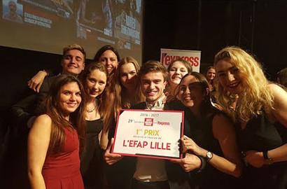 Actu EFAP - L'EFAP n°1 du Défi L'Express Grandes Écoles 2017