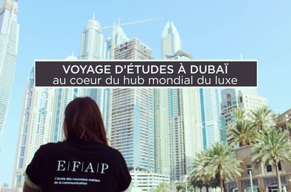 Actu EFAP - Voyage d'études aux Émirats Arabes Unis