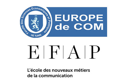Actu EFAP - Partenariat d'échange avec l'Europe de Com Tunis