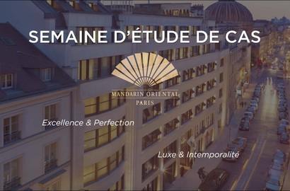 Actu EFAP - Étude de cas pour le Mandarin Oriental, Groupe hôtelier de luxe