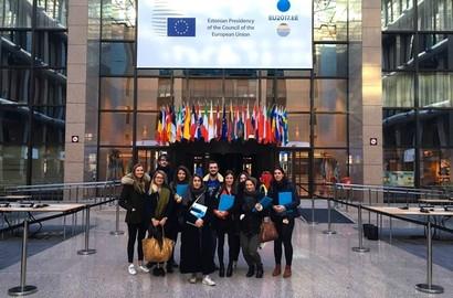 """Actu EFAP - Voyage d'études """"Politique & Influence"""" en Europe"""
