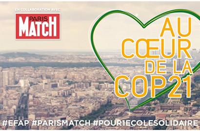Actu EFAP - L'EFAP au coeur de la COP21 #Pour1ecolesolidaire