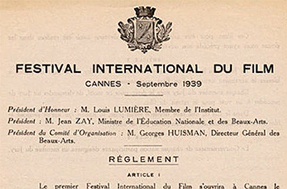 Actu EFAP - L'EFAP & le Festival de Cannes : Un partenariat historique