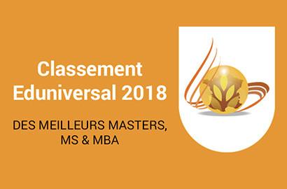 """Actu EFAP - Classement des meilleurs Masters : Reconnaissance des """"MBA Spécialisés"""" de l'EFAP"""