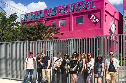 Actu EFAP - Feel the spirit of Miami - Voyage d'études à la Miami Ad School !