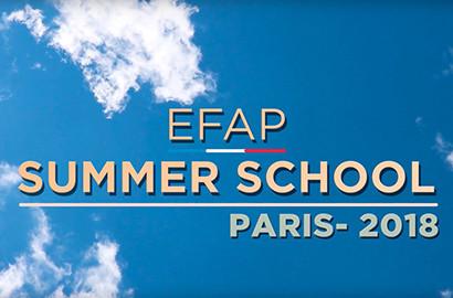 Actu EFAP - Summer School - Le programme d'été à Paris!