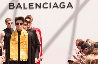 Actu EFAP - Conception d'un défilé de mode avec Balenciaga
