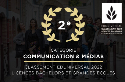 Actu EFAP - L'EFAP parmi les meilleures grandes écoles de communication