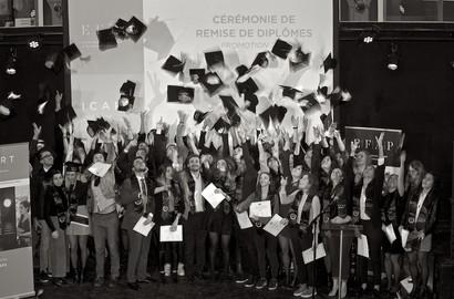 Actu EFAP - Remise de diplômes - EFAP Bordeaux, Promotion 2018