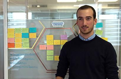Actu EFAP - Vincent, étudiant à l'EFAP Bordeaux, réalise un stage chez Capgemini
