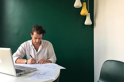 Actu EFAP - Edouard Delcourt, concepteur-rédacteur chez l'agence Grenade & Sparks