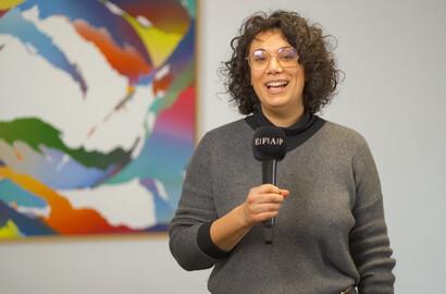 Actu EFAP - Elsa Esteves, diplômée de l'école de communication de l'EFAP, aujourd'hui directrice de clientèle!