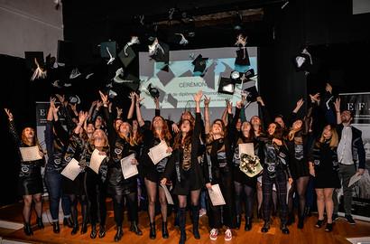 Actu EFAP - Remise de diplômes - EFAP Lyon, Promotion 2018