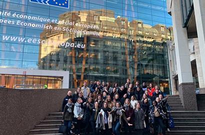 Actu EFAP - Voyage d'études - Influence & Lobbying à Bruxelles
