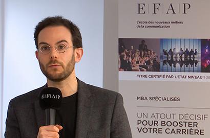 "Actu EFAP - Masterclass ""Influence & Storytelling"""