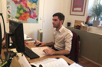Actu EFAP - Partage d'expérience : stage au sein du pôle attachés de presse à l'Élysée