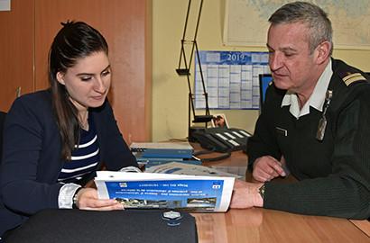 Actu EFAP - Morgane en stage communication au Ministère des Armées