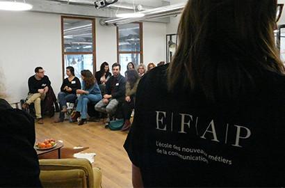 Actu EFAP - Communication événementielle : Mise en pratique aux Halles de Bacalan