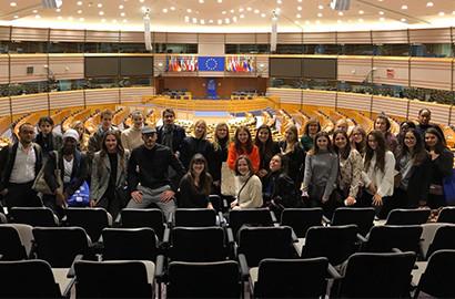 Actu EFAP - Voyage d'études - Au cœur des institutions européennes