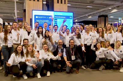 Actu EFAP - Les étudiants Social Media Reporters pour Microsoft