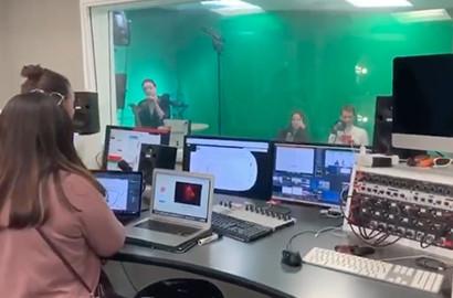 """Actu EFAP - """"Dis Bonjour Sabine"""" - Émission TV créée par les étudiants EFAP"""