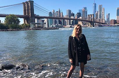 """Actu EFAP - Capucine - Étudiante EFAP et """"French Girl"""" à New York!"""
