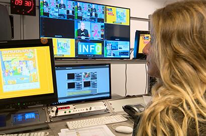 Actu EFAP - Stage production audiovisuelle pour une chaîne de TV