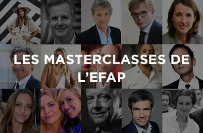 Actu EFAP - Les Masterclasses de l'EFAP