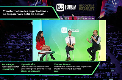 Actu EFAP - L'EFAP Partenaire du HUBFORUM 2020, le rendez-vous annuel des acteurs du digital!