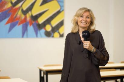 Actu EFAP - Stage Connect, le partage d'expérience de Géraldine Chabanne