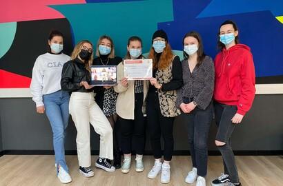 Actu EFAP - Les étudiants de l'EFAP vainqueurs du concours Flips