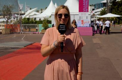 Actu EFAP - #EFAPCANNES - Perrine Quennesson, journaliste, critique de cinéma & présentatrice de l'émission Le Cercle sur Canal+