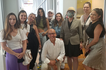Actu EFAP - L'EFAP NY en visite au Brooklyn Fashion Incubator