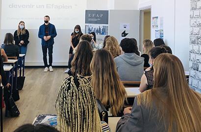 Actu EFAP - BONNE RENTRÉE à tous les étudiants de notre école de communication & marketing!